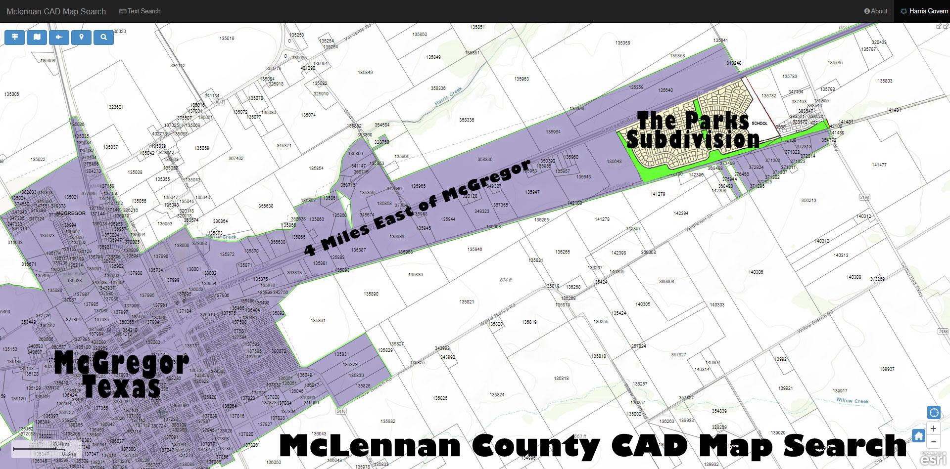 McLennan_CAD_Map
